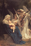 Bouguereau, William La Vierge aux Anges [The Virgin with Angels], 1881 Art Reproductions