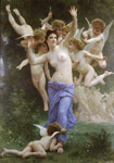 Bouguereau, William Le Guepier [The Wasp's Nest], 1892 Art Reproductions