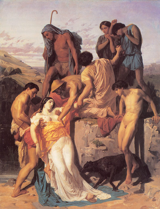 Zenobia Found by Shepherds on the Banks of the Araxes, 1850  Painting Reproductions