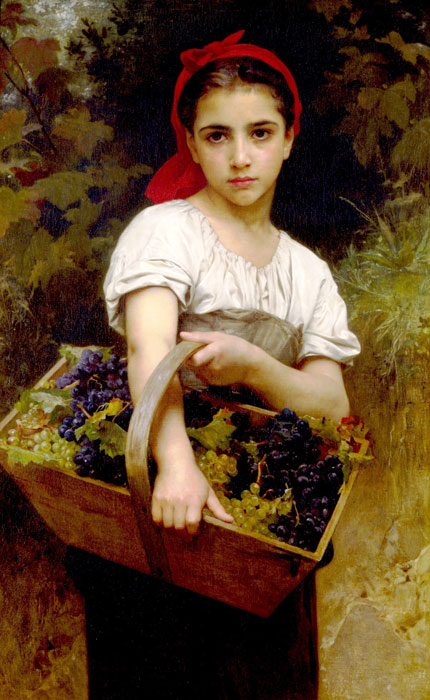 Vendangeuse [The Grape Picker], 1875  Painting Reproductions