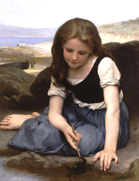 Le crabe [The Crab], 1869  Painting Reproductions