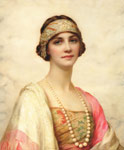 Wontner, William Clarke An Elegant Beauty Art Reproductions