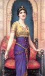 Wontner, William Clarke An Egyptian Beauty Art Reproductions