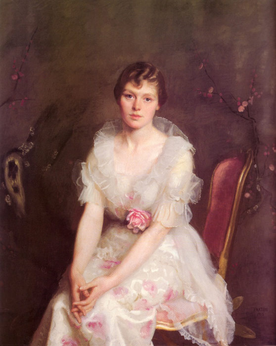 Portrait of Louise Converse, 1915  Painting Reproductions