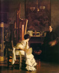 Paxton, William McGregor In the Studio, c.1905 Art Reproductions