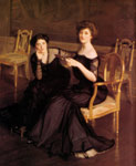 Paxton, William McGregor The Sisters, 1904 Art Reproductions