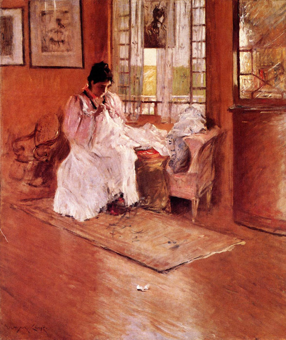 For the Little One aka Hall at Shinnecock, 1896  Painting Reproductions