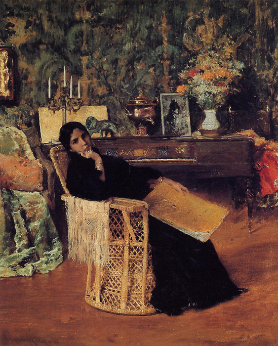 In the Studio, 1892  Painting Reproductions
