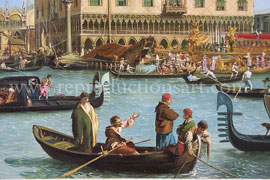 Oil Paintings Reproductions Canaletto, Giovanni Antonio Canal
